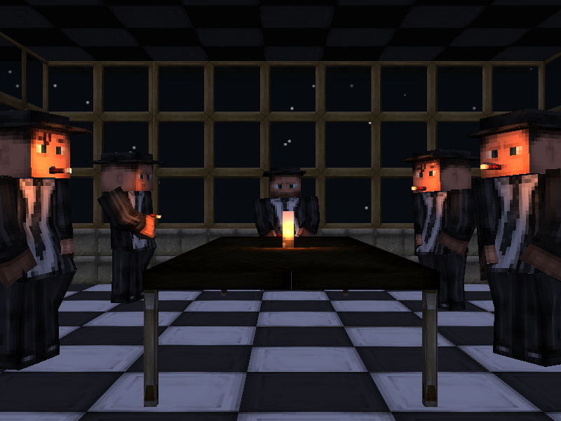 Minecraft Render results Mafia-2