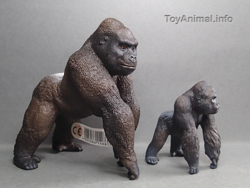 My first Eikoh models, - but I hope they are not the last ;-) EIKOHgorillaCompare_zps0564c9da