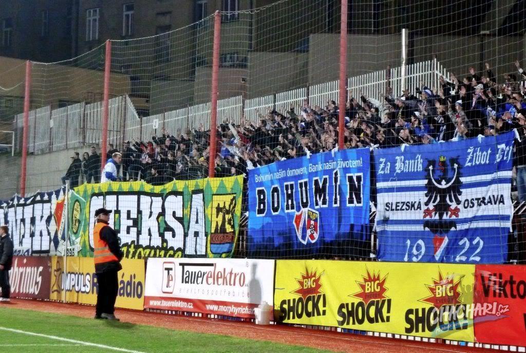 FC Baník Ostrava  Zizkov_-_Banik_kotel_Banik_061