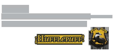 Pasillo melancolico (test del sombrero) Huffle