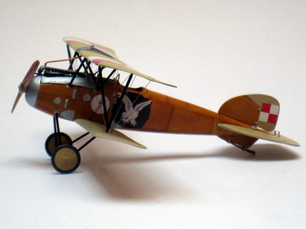 Oeffag D.III series 253 - 13-th Fighter Squadron Poland 1920 - RODEN 1/72 IMG_6178