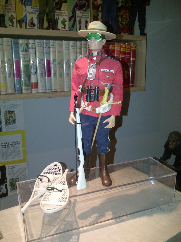 GI Joe Mountie Gift Set Mountie