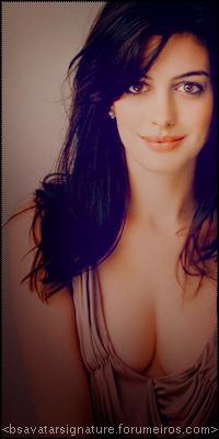 Anne Hathaway ---