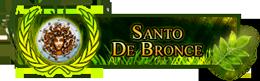 Santo de Bronce