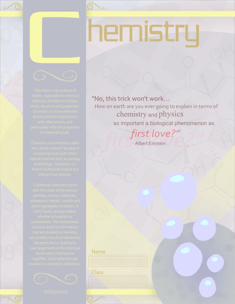 HelpHelpHelp Mrsilversparkle-chemistry