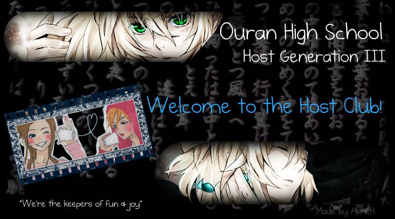 Ouran High School II! Bannerad