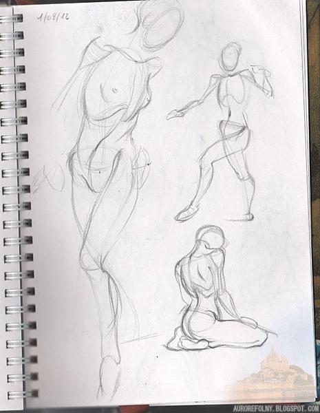 [Sketchbook] Les carnets de Virid Rain 1aout2012