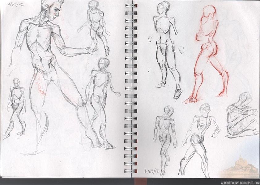 [Sketchbook] Les carnets de Virid Rain 2aout2012