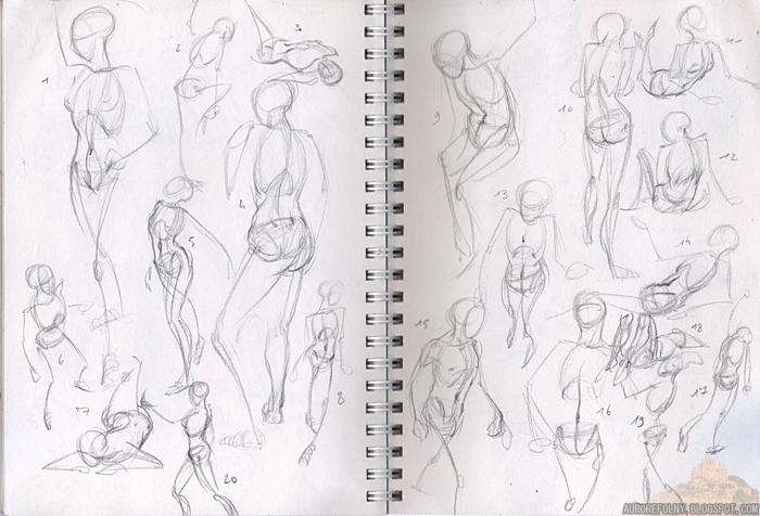 [Sketchbook] Les carnets de Virid Rain 30juill2012squelletors