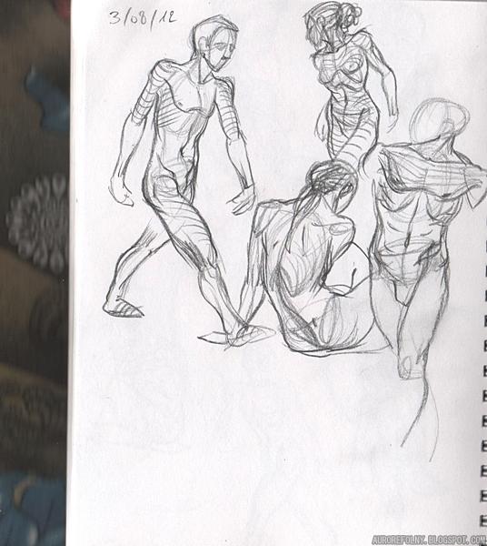 [Sketchbook] Les carnets de Virid Rain 3aout2012
