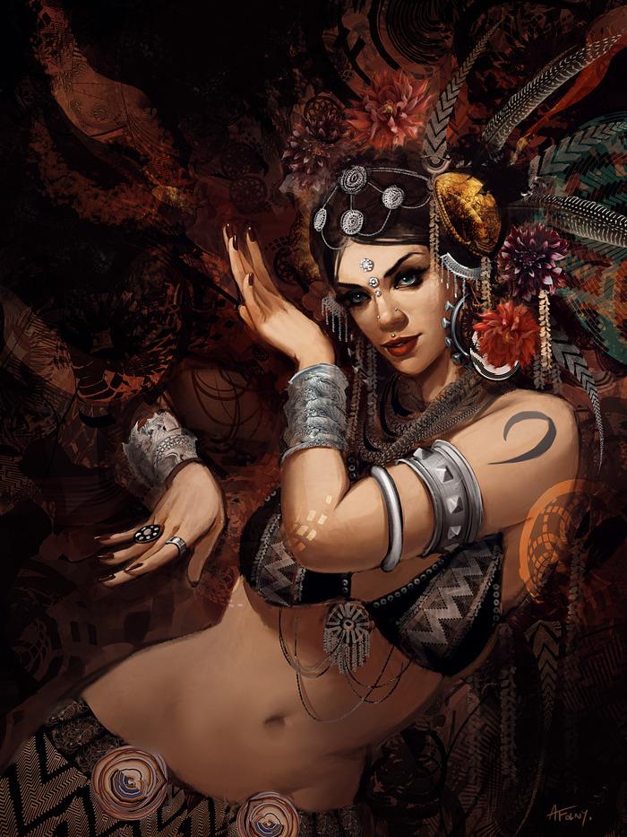 Galerie de Virid Rain Illust-tribal-umrah