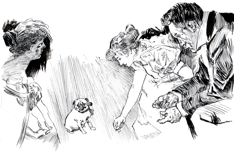 [Sketchbook] Les carnets de Virid Rain - Page 2 AuroreFOLNY_SB1-Ass4_Inkmaster-study3