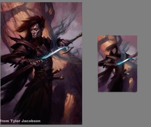 [Sketchbook] Les carnets de Virid Rain - Page 2 Tyler-Jacobson-DongeonsampDragons-magical-sword---eacutetude