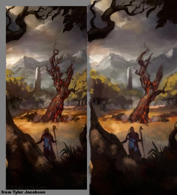 [Sketchbook] Les carnets de Virid Rain - Page 2 Tyler-Jacobson-DongeonsampDragons-tree---eacutetude