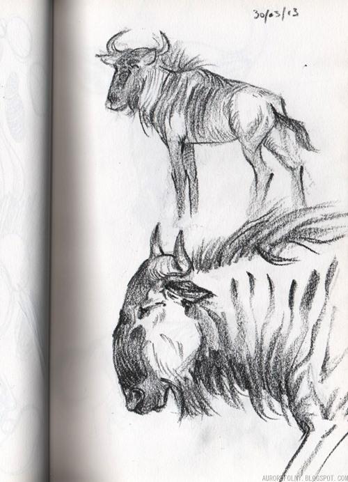 [Sketchbook] Les carnets de Virid Rain - Page 3 Gnous