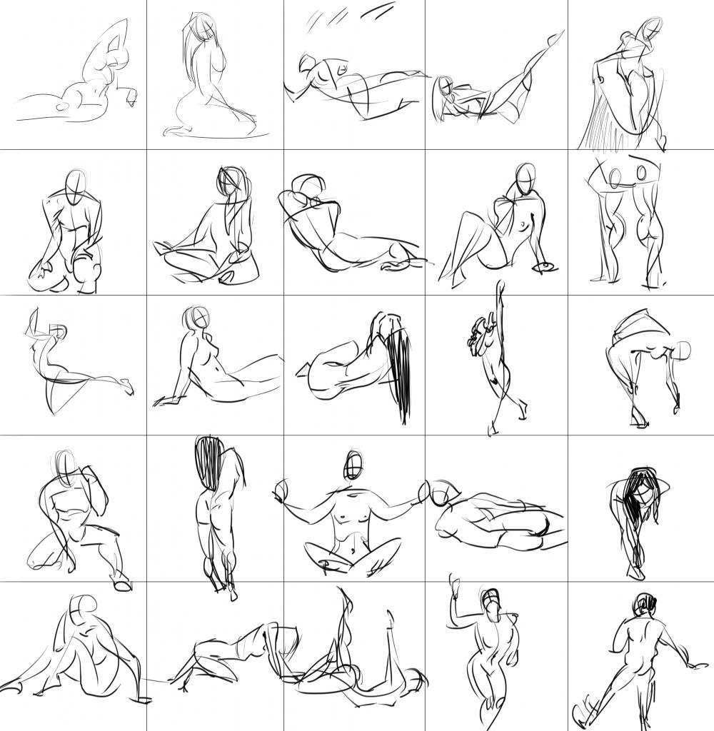 [Sketchbook] Les carnets de Virid Rain - Page 2 Mini-gestures2-60sec