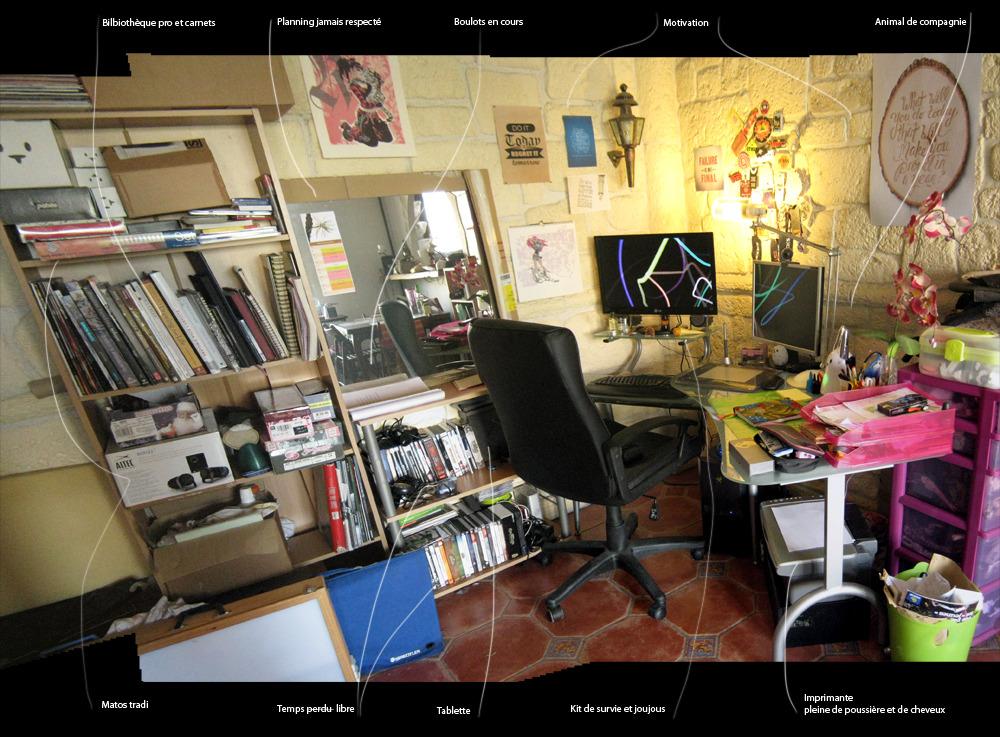 [irl] Montrez nous votre bureau Panoramabureau