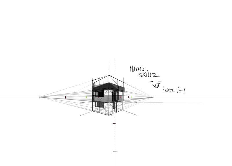 [Sketchbook] Les carnets de Virid Rain Maison-carreacutee_zps1552a451