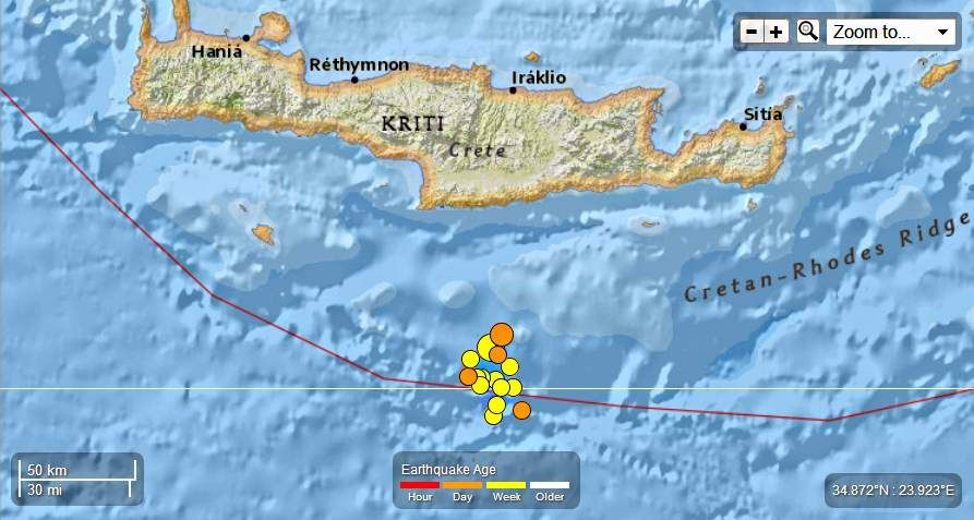 Greece – 4 EQ's from 5.8 to 4.0 Mag June 16th 2013 – A Total of 15 EQ's in the last 2 days. Greece-15EQsinthelast2daysJune17th2013_zps9b5a99ba
