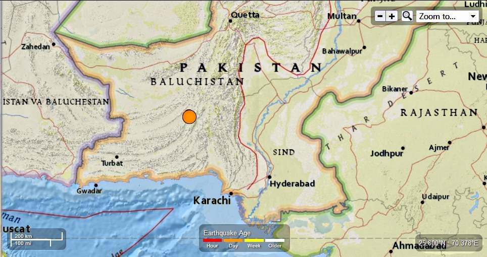 Another Strong quake felt in Pakistan – 6.8 Magnitude Earthquake Pakistan-68magEQ9282013_zps952dcdde