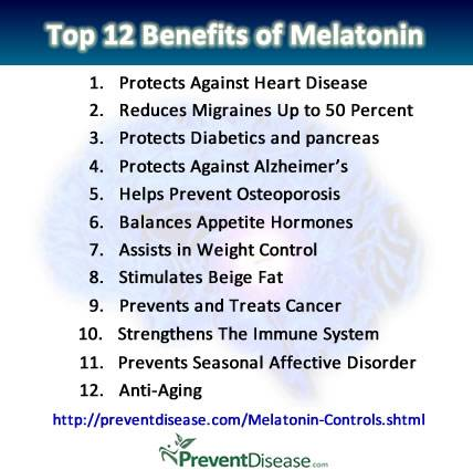 Melatonin Controls Our Cycles, Mood, Reproduction, Weight and Even Cancer Melatonin-benefits12s_zpse13d5737