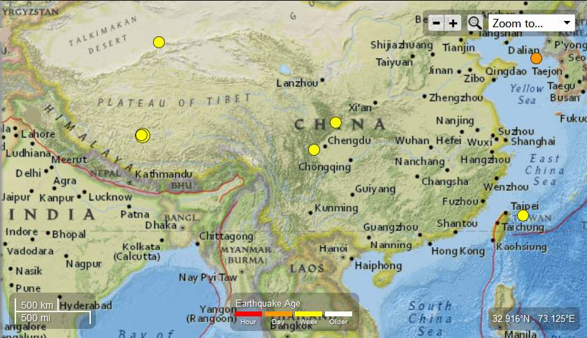 Earth Watch Report  -  Earthquakes China-5EQsMay15-17th2013_zps363932d8