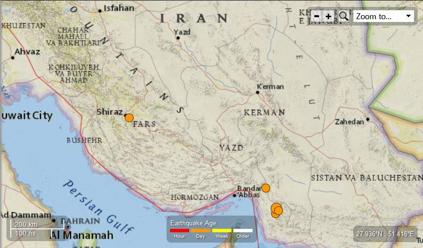Earth Watch Report  -  Earthquakes Iran-5EQsMay12th2013_zps0940dbc7