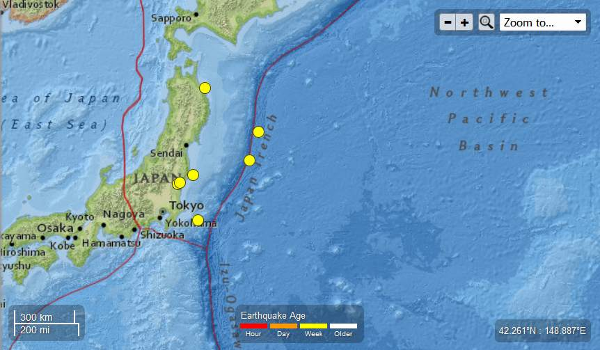 Japan – Six Earthquakes Ranging From 4.9 to 4.4 Magnitude May 15th – 16th , 2013 Japan-6EQsMay15th-16th2013_zps0d520a36