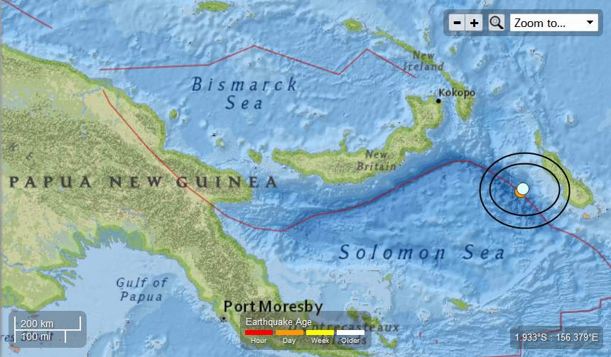 Earth Watch Report  -  Earthquakes PapuaNewGuinea-2EQs48MageachMay122013_zpse44099e9
