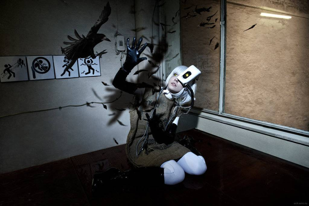 Cosplay spotlight Glados_cosplay_potato_portal_2_by_tenori_tiger-d5g5ccg