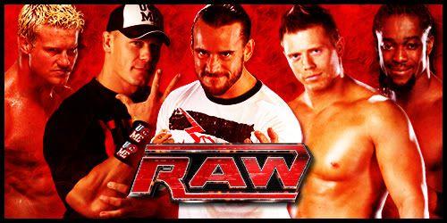Résultats de WEW Monday Night RAW, 9 juillet 2012. RawBanner