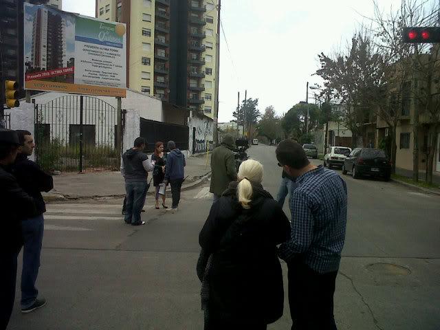[25-05-2012] Andrea del Boca filma un documental sobre la historia del Quilmes Atlético Club 2012_Andrea_grabando_documental_d_Quilmes_003