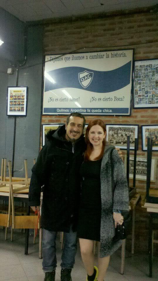 [25-05-2012] Andrea del Boca filma un documental sobre la historia del Quilmes Atlético Club At0XLatCMAAZe8Zjpglarge