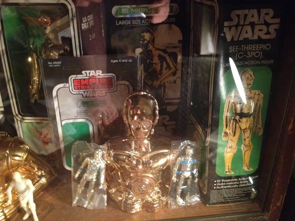 Vintage C-3PO & Loose Display New Items added 08/10/12 025