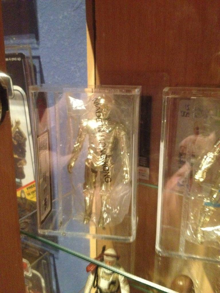 Vintage C-3PO & Loose Display New Items added 08/10/12 078