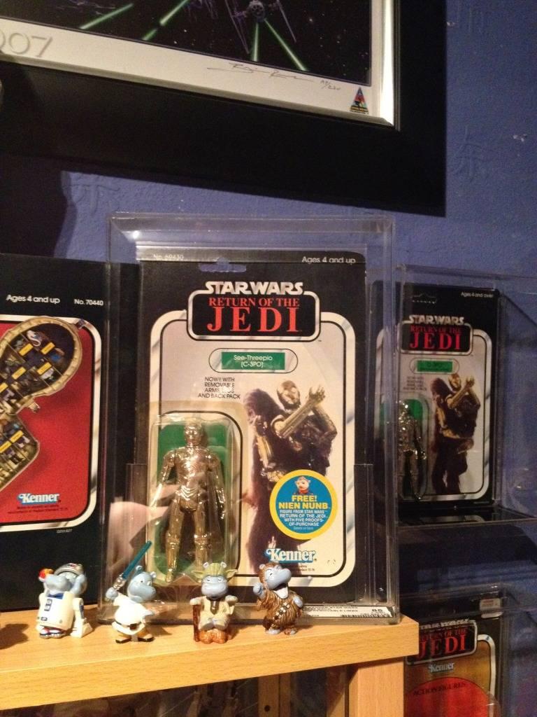 Vintage C-3PO & Loose Display New Items added 08/10/12 112