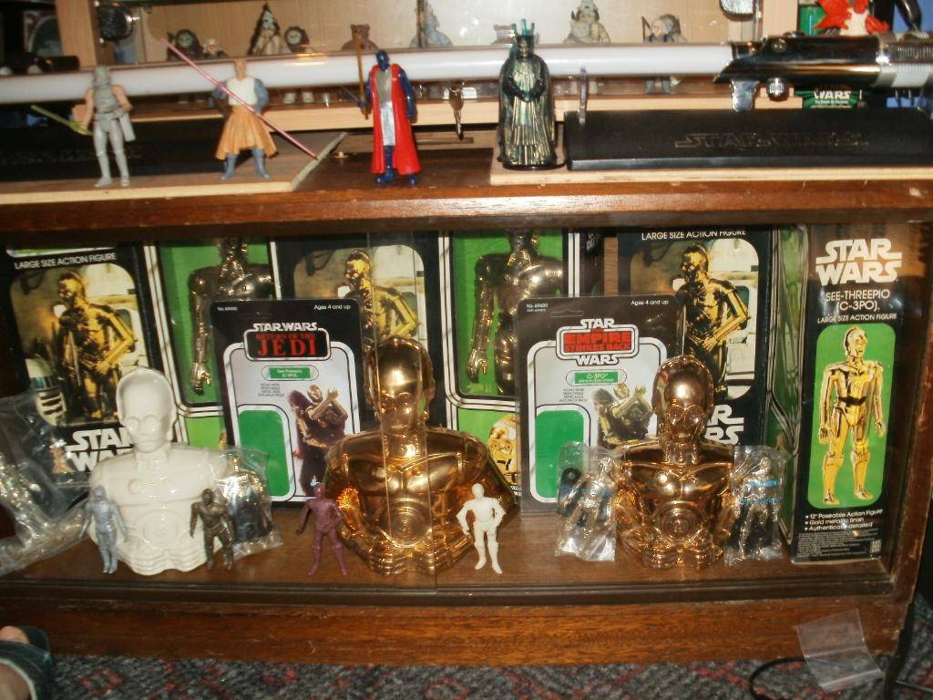 Vintage C-3PO & Loose Display New Items added 08/10/12 258