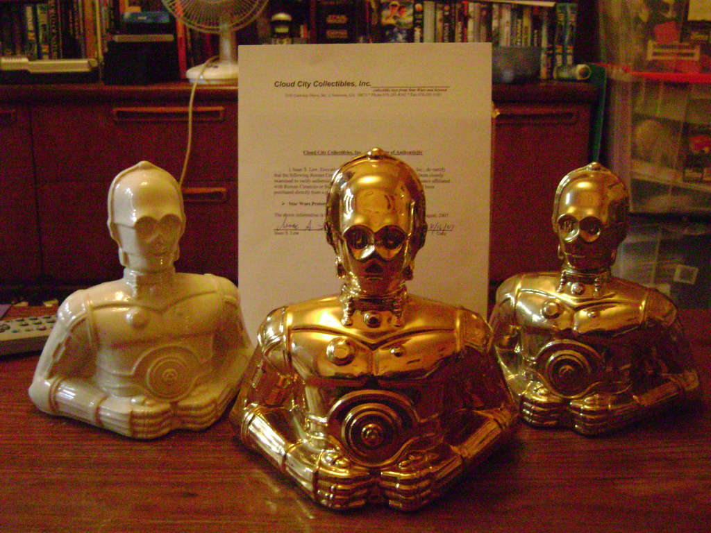 Vintage C-3PO Collection, another Focus Update JAN 2013 all my 3po items DSC00920