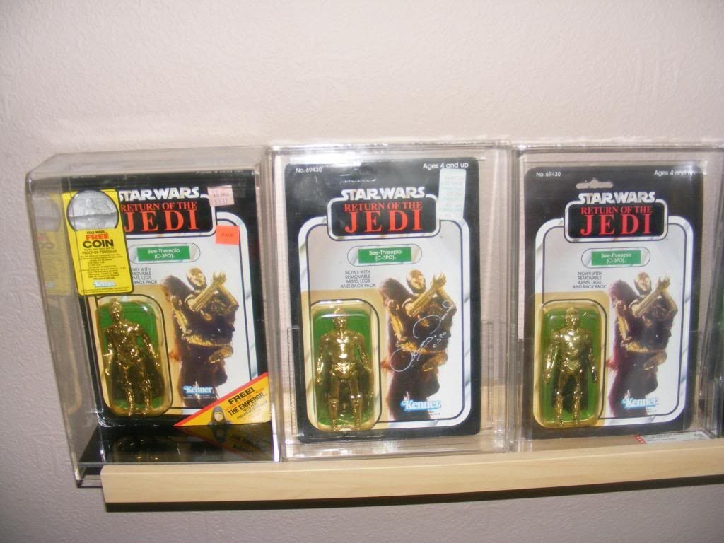 Sep 2013 Ikea Deltof C-3po Set up & Vintage C-3po Moc Shelfs 418_zpsaf349ac0