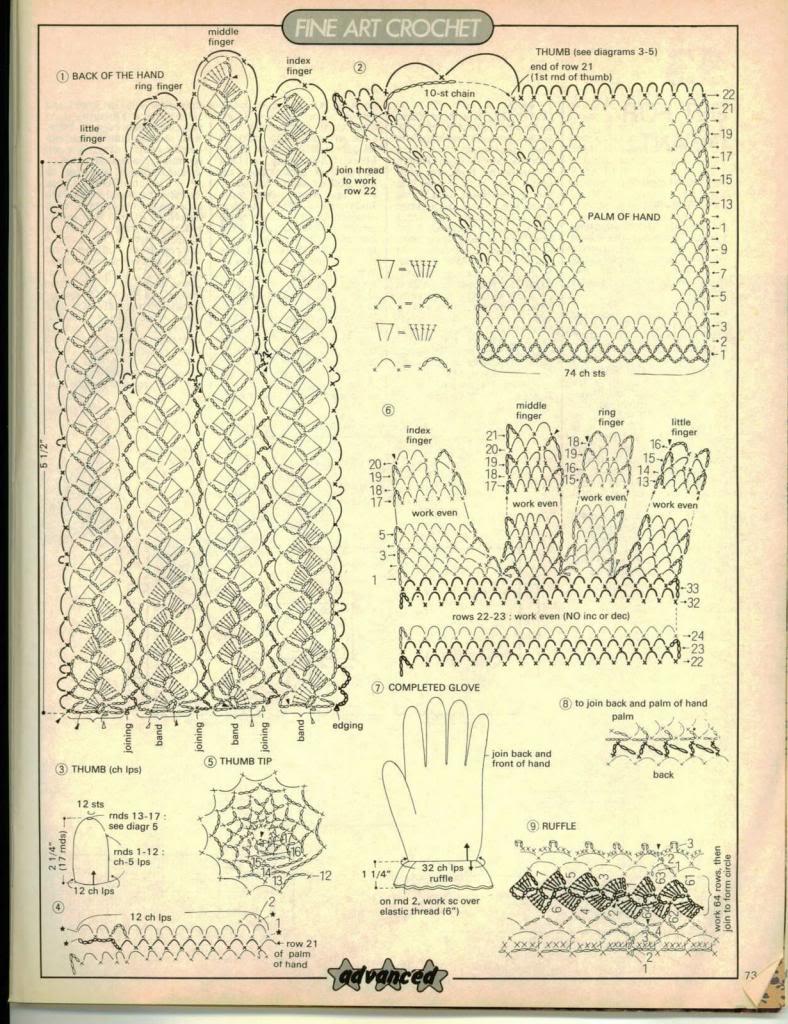 GANCHILLO Y PUNTO - PATRONES , MUESTRAS, CONSEJOS Y TRUCOS - Página 4 73