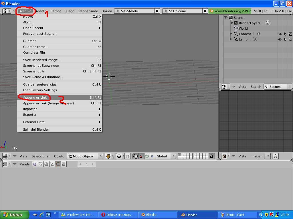 Tutorial Convertir modelos 3d de la galería google 3d a TM 5383330google1