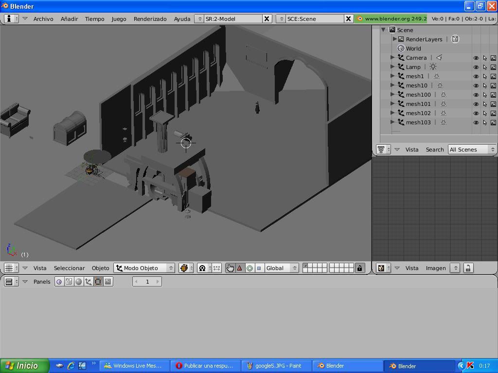 Tutorial Convertir modelos 3d de la galería google 3d a TM 5383475google6