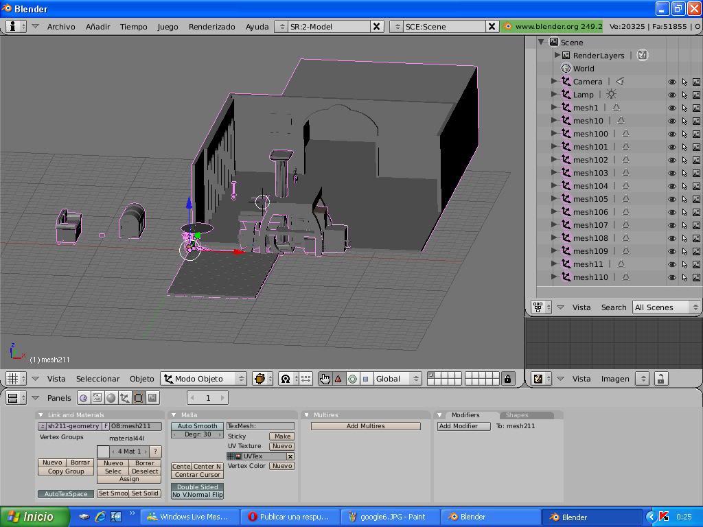Tutorial Convertir modelos 3d de la galería google 3d a TM 5383538google7