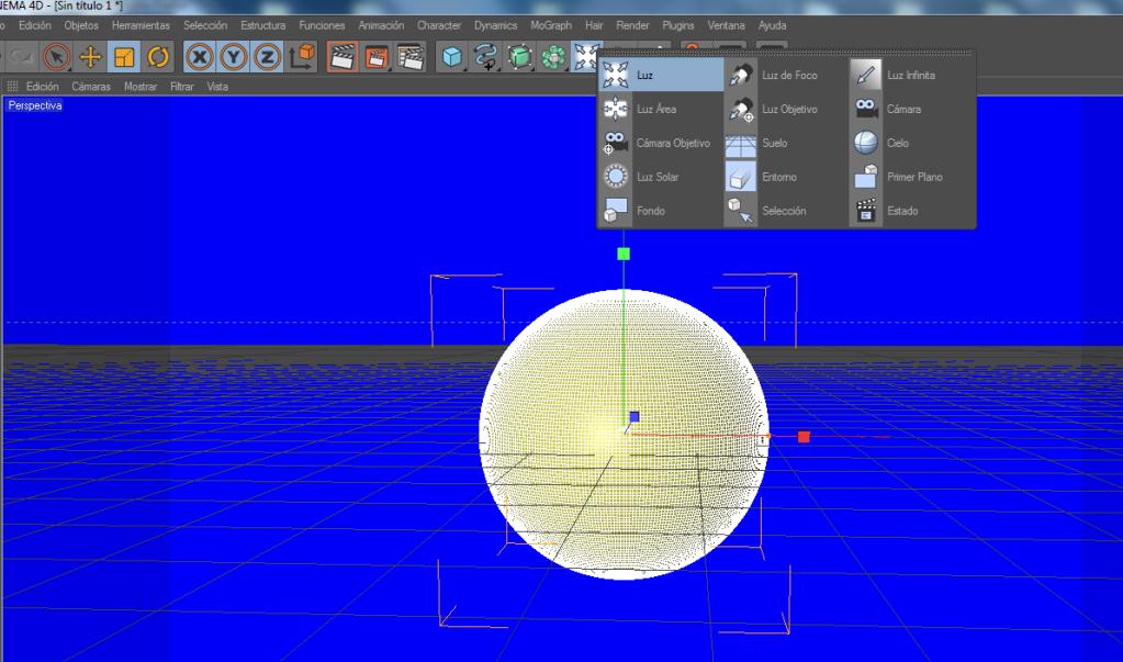 Crear un paisaje con CINEMA 4D (chroma key) C4d11