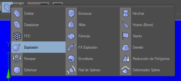 Crear un paisaje con CINEMA 4D (chroma key) C4d13primero