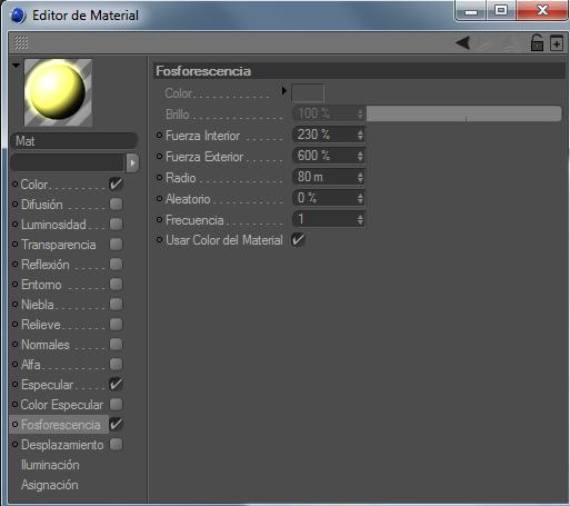 Crear un paisaje con CINEMA 4D (chroma key) C4d5