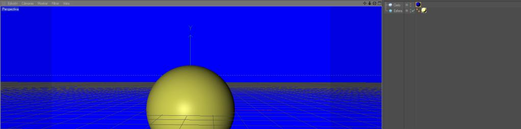Crear un paisaje con CINEMA 4D (chroma key) C4d8