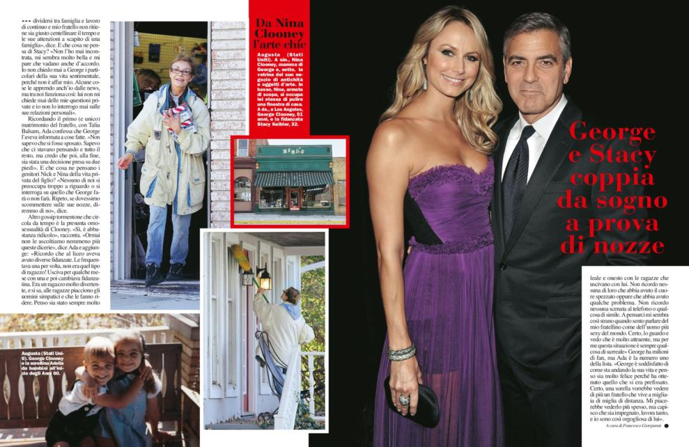 George Clooney's sister, Ada Zeidler, says he will never marry and isn't gay - Page 3 Chisorellaclooney3