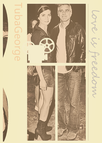George Clooney and Tuba Buyukustun photshopped pictures - Page 2 1-12