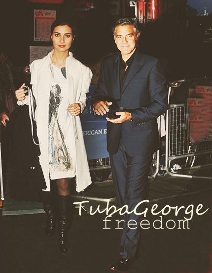 George Clooney and Tuba Buyukustun photshopped pictures 1-15